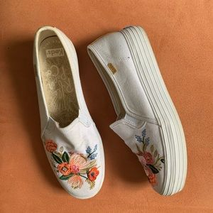 Keds Rifle Paper Company floral slip-on sneakers